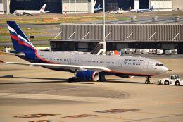 ER_b777logさんが、羽田空港で撮影したアエロフロート・ロシア航空 A330-243の航空フォト(飛行機 写真・画像)