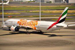 ER_b777logさんが、羽田空港で撮影したエミレーツ航空 777-31H/ERの航空フォト(飛行機 写真・画像)