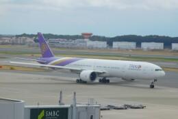 さんまるエアラインさんが、成田国際空港で撮影したタイ国際航空 777-3AL/ERの航空フォト(飛行機 写真・画像)