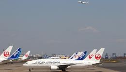 航空フォト:JA655J 日本航空 767-300