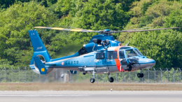 coolinsjpさんが、広島空港で撮影した広島県警察 AS365N3 Dauphin 2の航空フォト(飛行機 写真・画像)