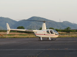 F.YUKIHIDEさんが、岡南飛行場で撮影した日本法人所有 R44 Ravenの航空フォト(飛行機 写真・画像)