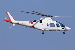 korosukeさんが、南紀白浜空港で撮影した鹿児島国際航空 A109E Powerの航空フォト(飛行機 写真・画像)