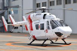 ミルハスさんが、仙台空港で撮影した東北エアサービス BK117B-2の航空フォト(飛行機 写真・画像)