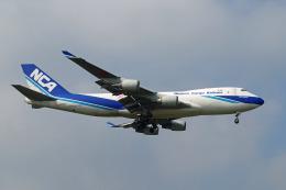 szkkjさんが、成田国際空港で撮影した日本貨物航空 747-4KZF/SCDの航空フォト(飛行機 写真・画像)