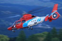 kengo.k@RJFTさんが、熊本空港で撮影した長崎県防災航空隊 AS365N3 Dauphin 2の航空フォト(飛行機 写真・画像)