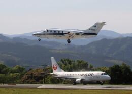 ビッグジョンソンさんが、高遊原分屯地で撮影した航空自衛隊 T-400の航空フォト(飛行機 写真・画像)