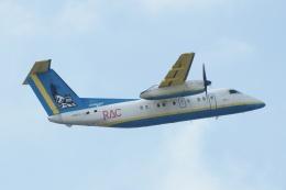 磐城さんが、那覇空港で撮影した琉球エアーコミューター DHC-8-103Q Dash 8の航空フォト(飛行機 写真・画像)