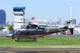 よっしぃさんが、東京ヘリポートで撮影した警視庁 A109S Trekkerの航空フォト(飛行機 写真・画像)