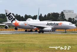 tassさんが、成田国際空港で撮影したジェットスター・ジャパン A320-232の航空フォト(飛行機 写真・画像)