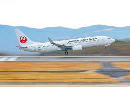 KAMIYA JASDFさんが、広島空港で撮影した日本航空 737-846の航空フォト(飛行機 写真・画像)