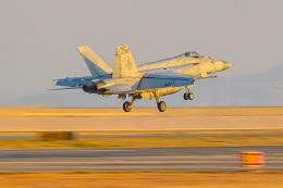 KAMIYA JASDFさんが、岩国空港で撮影したアメリカ海軍 F/A-18E Super Hornetの航空フォト(飛行機 写真・画像)