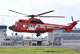 jun☆さんが、東京ヘリポートで撮影した東京消防庁航空隊 EC225LP Super Puma Mk2+の航空フォト(飛行機 写真・画像)