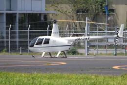jun☆さんが、東京ヘリポートで撮影した匠航空 R44 Raven IIの航空フォト(飛行機 写真・画像)