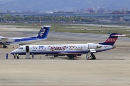 aki241012さんが、福岡空港で撮影したアイベックスエアラインズ CL-600-2C10 Regional Jet CRJ-702の航空フォト(飛行機 写真・画像)