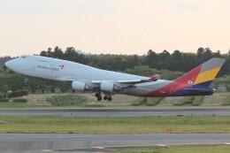 cassiopeiaさんが、成田国際空港で撮影したアシアナ航空 747-446(BDSF)の航空フォト(飛行機 写真・画像)