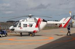 MOR1(新アカウント)さんが、仙台空港で撮影した東北エアサービス BK117B-2の航空フォト(飛行機 写真・画像)