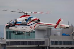 (新)ふぁんとむ改さんが、佐賀空港で撮影した朝日新聞社 MD 900/902の航空フォト(飛行機 写真・画像)