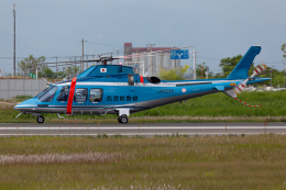(新)ふぁんとむ改さんが、佐賀空港で撮影した佐賀県警察 AW109SPの航空フォト(飛行機 写真・画像)