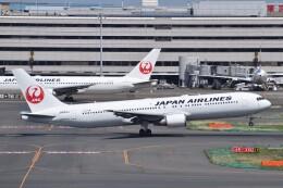 PIRORINGさんが、羽田空港で撮影した日本航空 767-346/ERの航空フォト(飛行機 写真・画像)