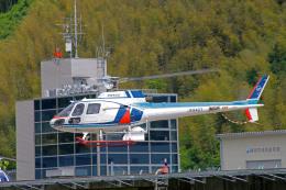 apphgさんが、静岡ヘリポートで撮影した中日本航空 AS350B Ecureuilの航空フォト(飛行機 写真・画像)
