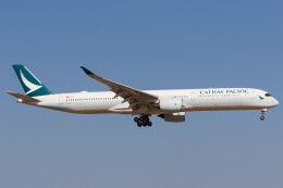 walker2000さんが、成田国際空港で撮影したキャセイパシフィック航空 A350-1041の航空フォト(飛行機 写真・画像)