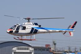 キイロイトリさんが、八尾空港で撮影した中日本航空 AS350B Ecureuilの航空フォト(飛行機 写真・画像)