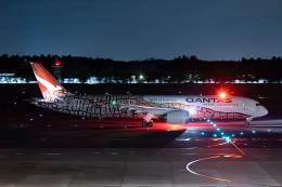 やまのクマさんさんが、成田国際空港で撮影したカンタス航空 787-9の航空フォト(飛行機 写真・画像)