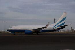 スポット110さんが、羽田空港で撮影したラスベガス サンズ 737-75T BBJの航空フォト(飛行機 写真・画像)