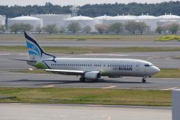 LEGACY-747さんが、成田国際空港で撮影したエアプサン 737-48Eの航空フォト(飛行機 写真・画像)