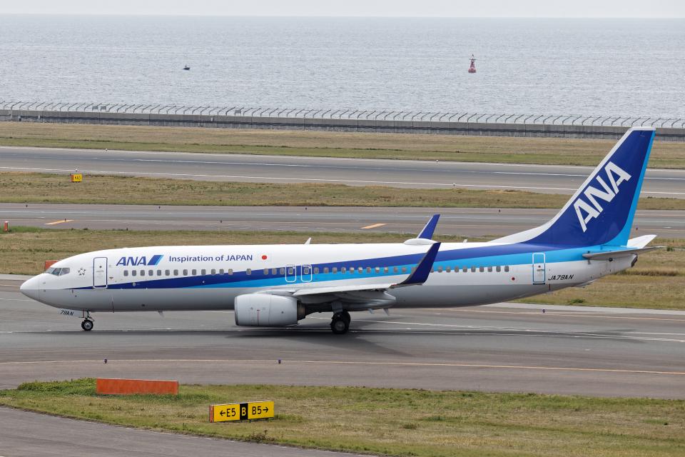 SGR RT 改さんの全日空 Boeing 737-800 (JA79AN) 航空フォト