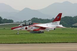 tsubameさんが、芦屋基地で撮影した航空自衛隊 T-4の航空フォト(飛行機 写真・画像)