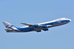 サンドバンクさんが、成田国際空港で撮影したエアブリッジ・カーゴ・エアラインズ 747-8HVFの航空フォト(飛行機 写真・画像)