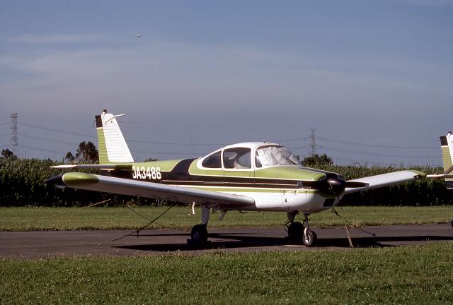 JAパイロットさんが、大利根飛行場で撮影した日本個人所有 FA-200-160 Aero Subaruの航空フォト(飛行機 写真・画像)