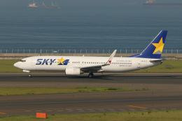 SIさんが、中部国際空港で撮影したスカイマーク 737-8Q8の航空フォト(飛行機 写真・画像)