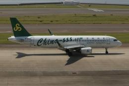 SIさんが、中部国際空港で撮影した春秋航空 A320-214の航空フォト(飛行機 写真・画像)