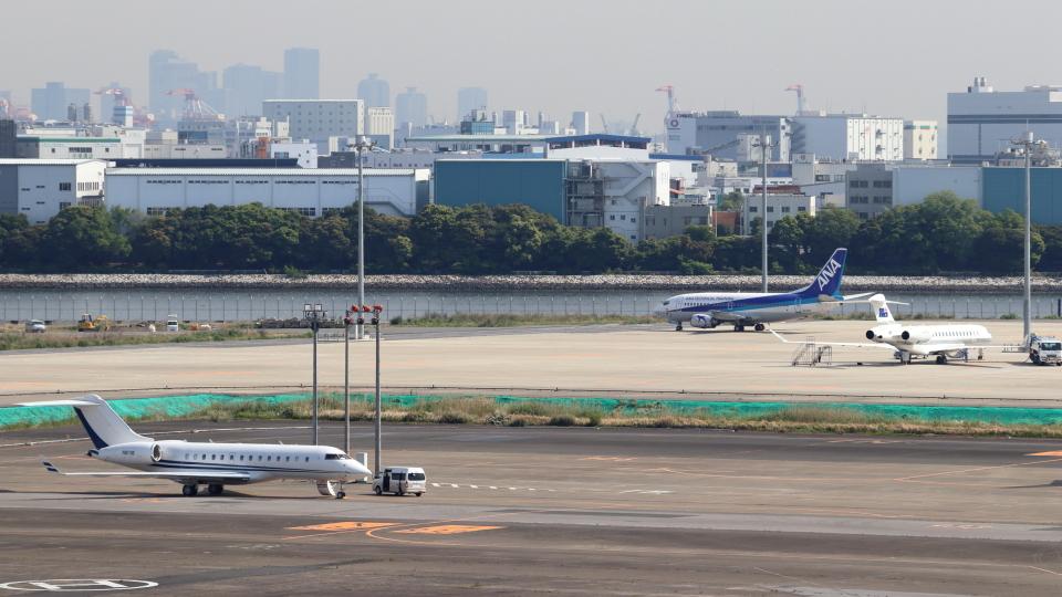 誘喜さんのアメリカ企業所有 Bombardier BD-700 Global Express/5000/6000 (N81118) 航空フォト