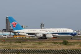 宮崎 育男さんが、成田国際空港で撮影した中国南方航空 A380-841の航空フォト(飛行機 写真・画像)