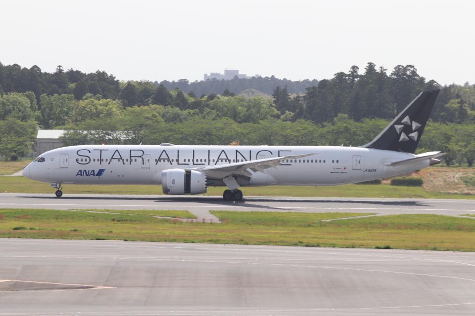 クロマティさんの全日空 Boeing 787-9 (JA899A) 航空フォト