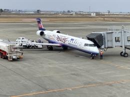 Ky-Photoさんが、仙台空港で撮影したアイベックスエアラインズ CL-600-2C10 Regional Jet CRJ-702の航空フォト(飛行機 写真・画像)