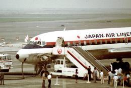 やまモンさんが、羽田空港で撮影した日本航空 DC-8-62Hの航空フォト(飛行機 写真・画像)