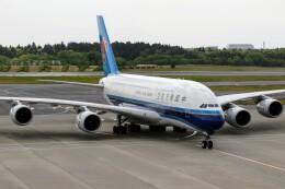 sin747さんが、成田国際空港で撮影した中国南方航空 A380-841の航空フォト(飛行機 写真・画像)