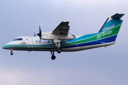 Yukio a.k.a Yu Worksさんが、福岡空港で撮影したオリエンタルエアブリッジ DHC-8-201Q Dash 8の航空フォト(飛行機 写真・画像)