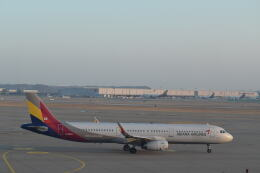 hachiさんが、仁川国際空港で撮影したアシアナ航空 A321-231の航空フォト(飛行機 写真・画像)