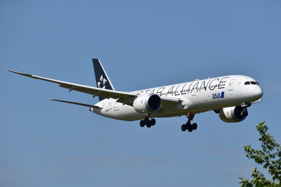 しめぎさんの全日空 Boeing 787-9 (JA899A) 航空フォト