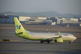 hachiさんが、仁川国際空港で撮影したジンエアー 737-8Q8の航空フォト(飛行機 写真・画像)