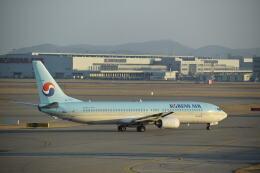 hachiさんが、仁川国際空港で撮影した大韓航空 737-9B5の航空フォト(飛行機 写真・画像)