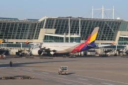 hachiさんが、仁川国際空港で撮影したアシアナ航空 A350-941の航空フォト(飛行機 写真・画像)
