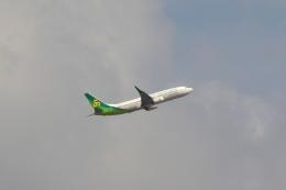 Hiro-hiroさんが、成田国際空港で撮影した春秋航空日本 737-8ALの航空フォト(飛行機 写真・画像)