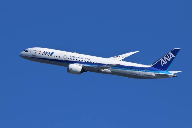 航空フォト:JA833A 全日空 787-9